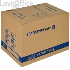 Scatole per il trasloco Colompac - avana - 50x35x35,5 cm - 51x36x37 cm - TP110.001 (conf.10)