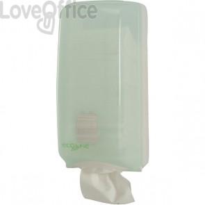 Dispenser ECO QTS - interfogliata - 16x13,5x33 cm - 700 fogli - E-TO/SF1-S