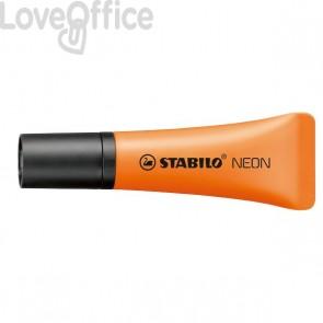 Evidenziatore NEON Stabilo - 2-5 mm - arancione- 72/54 (conf.10)