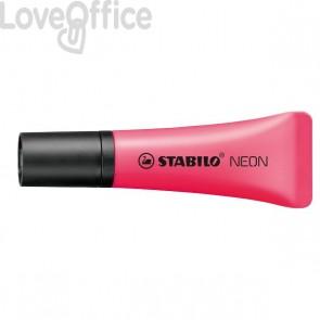 Evidenziatore NEON Stabilo - 2-5 mm - rosso- 72/56 (conf.10)