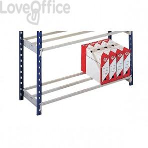 Staffe per aggiungere 1 ripiano alla scaffalatura metallica RANG'ECO+ Paperflow - 100x60 cm