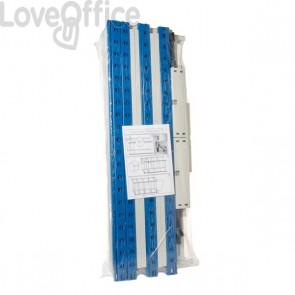Set di 2 staffe aggiuntive per scaffalatura ad incastro RANG'ECO Paperflow - 125x35 cm