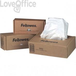 Sacchetti per distruggidocumenti Fellowes - 34 l - 36053 (conf100)