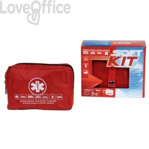 Kit primo soccorso da auto Pharma Shield - 15x13x5 cm