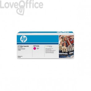 Originale HP CE743A Toner magenta