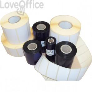 KIT etichette-ribbon Etiform - 100x74 - 3936 - 1'' - K100x074x150R4 (conf.1 ribbon; 3936 etic.)