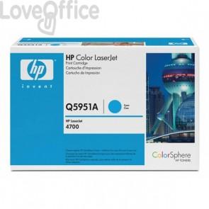 Originale HP Q5951A Toner ciano