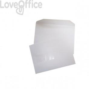 buste per spedizioni in carta patinata con finestra pigna