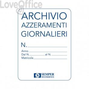 Cartella archivio azzeramenti giornalieri - Semper Multiservice - SEZA00180
