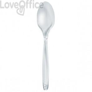Cucchiai in plastica DOpla - trasparente - 3724 (conf.100)