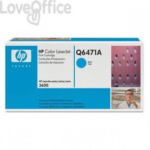 Originale HP Q6471A Toner ciano