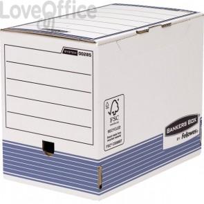 Contenitore archivio A4 dorso 20 cm R-Kive Prima Fellowes - 20,6x32,7x26,5 cm (conf.10)