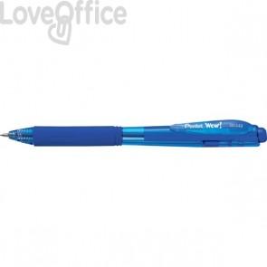 Penna a sfera a scatto Pentel WOW!  - blu - BK440-C (conf.12)
