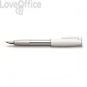 Penna stilografica Linea LOOM PIANO Faber Castell - bianco