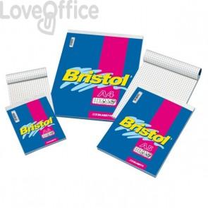 Blocchi punto metallico BRISTOL Blasetti - A6 - 5 mm - 60 fogli (conf.10)