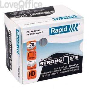 Punti per alti spessori Rapid - Punti metallici 9/10 Super Strong - 40-70 ff - 24871200 (conf.5000)