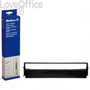 Compatibile per Epson EPSC13S015021 Nastro nylon alta densità Nero - Pelikan