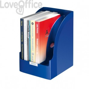 Portariviste Leitz Plus Jumbo Esselte - blu fiordaliso - 52390035
