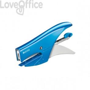 Cucitrice a pinza 5547 Leitz - azzurro metallizzato - 55472036