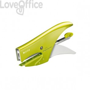 Cucitrice a pinza 5547 Leitz - verde metallizzato - 55472064