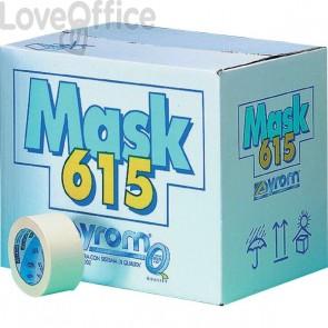 Nastro adesivo in carta Masking 615 Syrom - 25 mm x 50 m - 7458