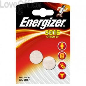 Pile Energizer Specialistiche - Litio - 2016 - 3 V - 626986 (conf.2)