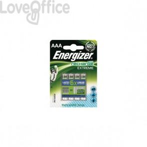 Ricaricabili Energizer - ministilo - AAA - 800 mAh - E3006224400 (conf.4)