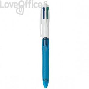 Penna a sfera 4 Colours™ Bic - grip - 4 colori di scrittura - 1 mm - 8871361