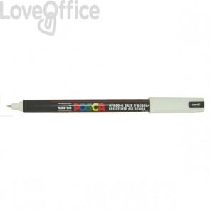 Pennarello Uniposca a tempera - Uniposca bianco Uni-Ball - tonda - 0,7 mm