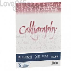 Calligraphy Millerighe Rigato Favini - bianco - fogli - A4 - 100 g - A690224 (conf.50)