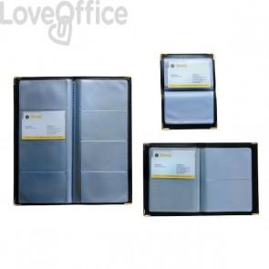Portabiglietti da visita tascabili Tecnostyl - 96 posti - 11,5x25 cm - NC96