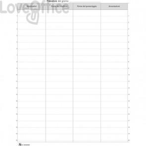 Registro firme presenze Semper Multiservice - 245x310 mm - SEE000500