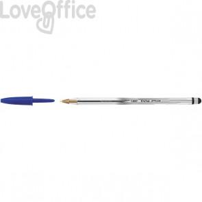 Penna A Sfera Cristal Stylus 2 In 1 Bic - Blu - 926388