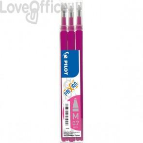 Refill per penna a sfera cancellabile Frixion Ball Pilot - rosa (conf.3)