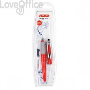 Penna Stilografica My Pen Pelikan - Corallo/Grigio - 0K10999738