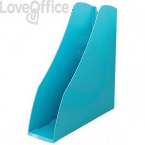 Accessori Da Scrivania My Desk Arda - Portariviste - 7,5x26,6x27,8 cm - Turchese - 7118Tu