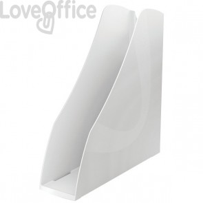 Accessori Da Scrivania My Desk Arda - Portariviste - 7,5x26,6x27,8 cm - Bianco - 7118B