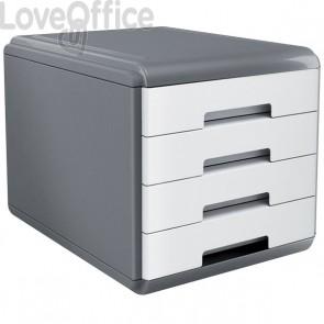 Accessori Da Scrivania My Desk Arda - Cassettiera - 29,5x38,5x28,2 cm - Bianco - 18P4Pb