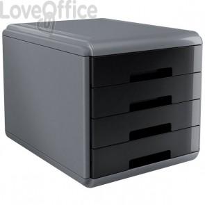 Accessori Da Scrivania My Desk Arda - Cassettiera - 29,5x38,5x28,2 cm - Nero - 18P4Pn