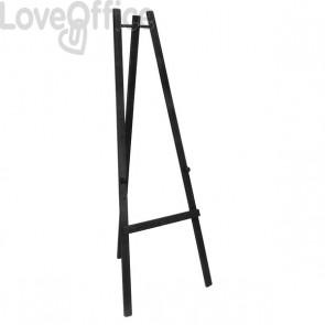 Cavalletto per Lavagne Universal Da Muro A Gesso Liquido -  165 cm - Nero