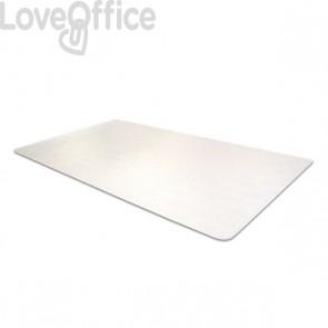 Tappeto Protettivo trasparente Anti Microbico Floortex - Ufficio - Casa - 120x150 cm