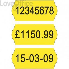 Etichette per prezzatrici Avery Dennison - 12x26 mm - Permanenti - giallo - 1 - 10YP1226 (conf.10000)