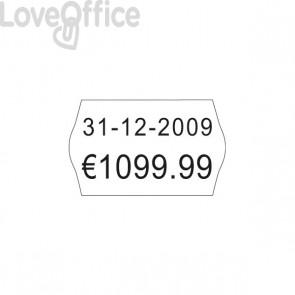 Etichette per prezzatrici Avery Dennison - 16x26 mm - Removibili - bianco - 2 - 10WR1626 (conf.10000)