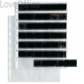 Buste Porta Negativi Sei Rota - 7 Spazi da 35 mm - 22x4 cm (Conf.10)