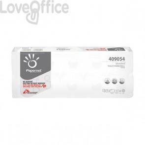Carta igienica microincollata Papernet 190 strappi - 2 veli - 409054 (conf. 10 rotoli)