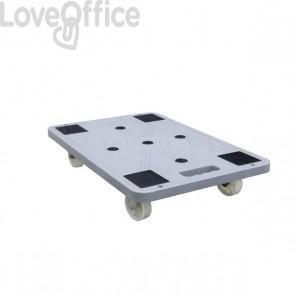 Piattaforma Su Ruote Viso - 600x400x125 mm - 150Kg - Rp 600