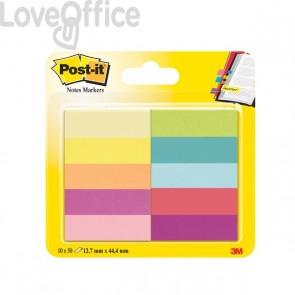 Segnapagina Post-It® Notes Markers In Carta  - 12,7x44,4 mm - Jaipur:  -  670-10-Eu (Conf.10)
