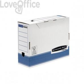 Contenitore Archivio A4 Dorso 10 cm Bankers Box System Fellowes - A4 - 31,5x10x26 cm - 0026501 (Conf.10)