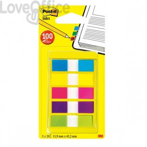 Segnapagina Post-It® Index Pocket  - Mini Dispenser Index Segnapagina - 683-5Cbeu (Conf.5)