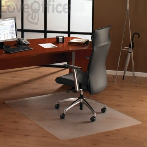 Tappeto Protettivo trasparente in policarbonato Floortex - Per pavimenti - 120x134x0,19cm